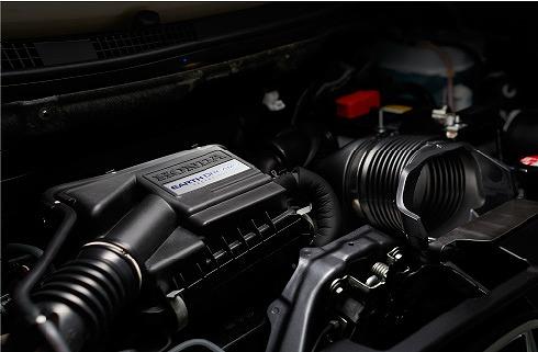 nワゴンスタイリッシュパッケージ評価 エンジン