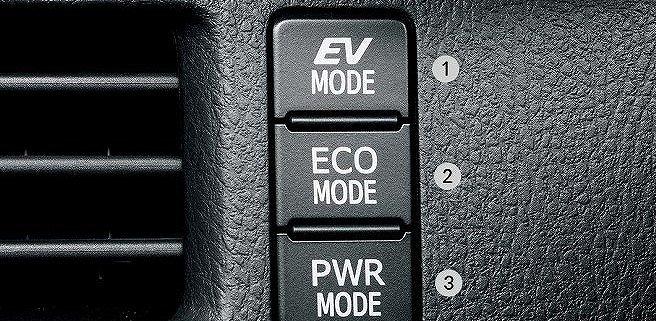 ノア ハイブリッド 高速 燃費 ノアハイブリッドの走行モードボタン