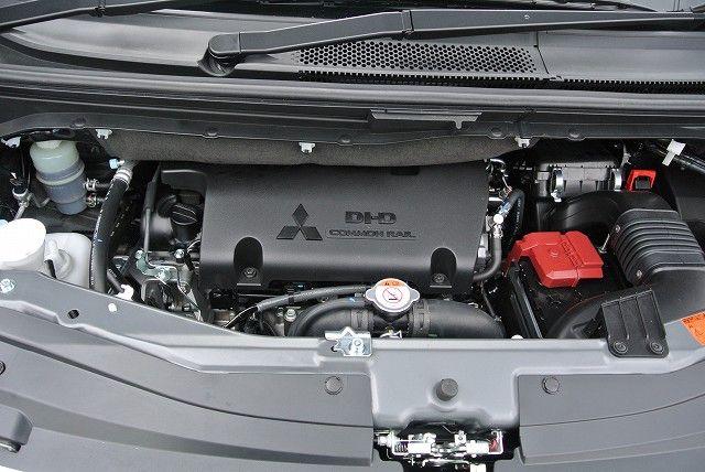 デリカ d5 中古車 ハイリフト エンジン音