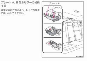ハリアー 後部座席 倒し方 格納方法