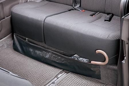 nbox 収納 工夫 傘 座席下
