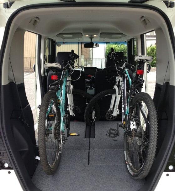nbox 自転車の 乗せ方 大人用自転車