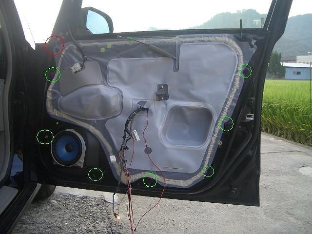 オデッセイrb1 内装 外し方 ドアの内装