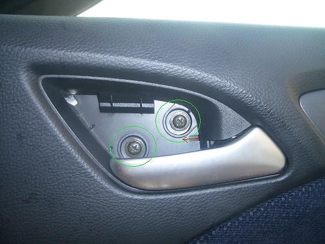 オデッセイrb1 内装 外し方 ドアハンドル