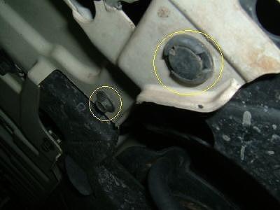 オデッセイ RC1 フォグランプ 交換方法 タイヤハウス