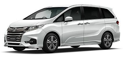 新型オデッセイ カスタムカー 標準車