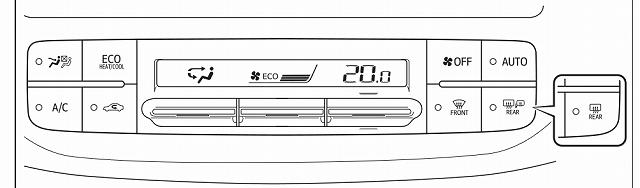 プリウス エアコンボタン 説明 基本設定
