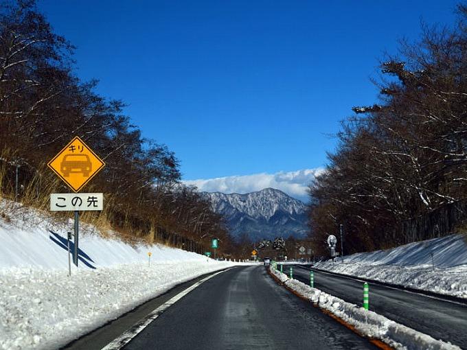 ヴェルファイア 雪道 2wd 除雪された道路
