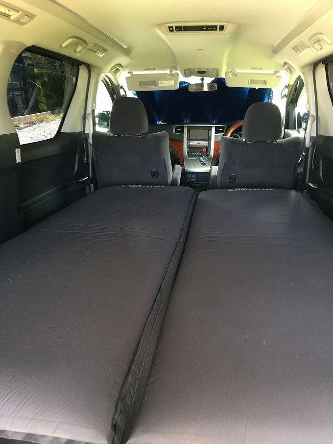 ヴェルファイア  車中泊 床 専用マット